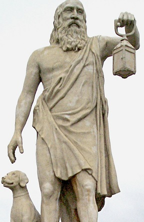 Statue Diogene